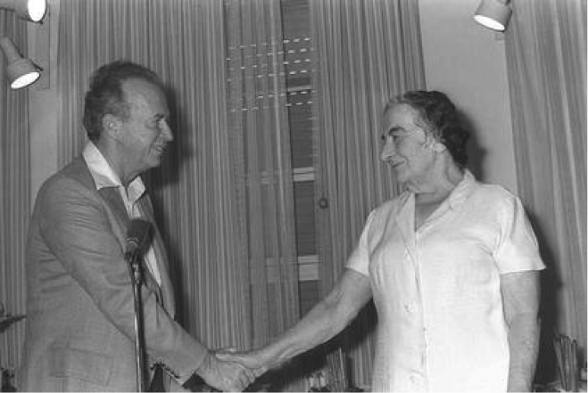 Golda Meir Resigns as Prime Minister