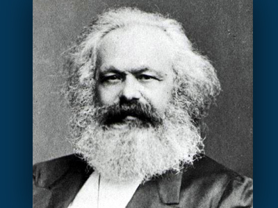 """Birth of Karl Marx, Author of """"The Communist Manifesto"""" and """"On the Jewish Question"""""""