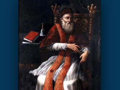 Pope Paul IV Orders Jews of Rome Into a Ghetto