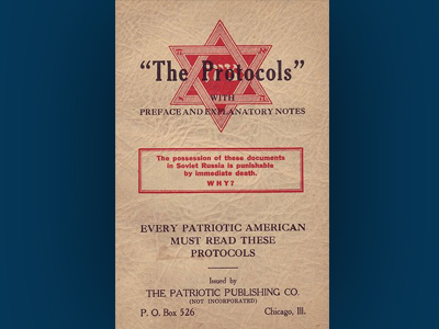 Protocols of the Elders of Zion Is Published