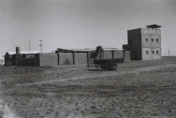 Mitzpe Gevulot Established in Negev