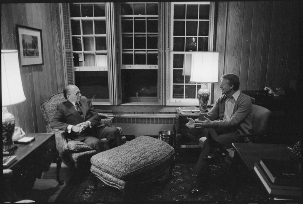 Memorandum of Conversation between US President Jimmy Carter, US Secretary of State Cyrus Vance, Israeli Prime Minister Menachem Begin, and Israeli Foreign Minister 