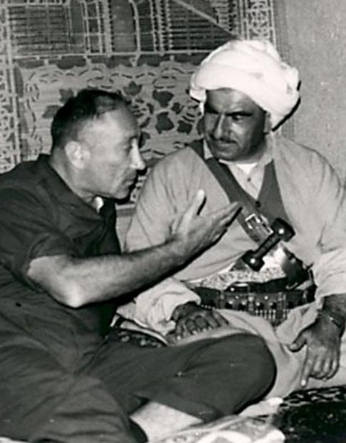 Mossad's Meir Amit Born