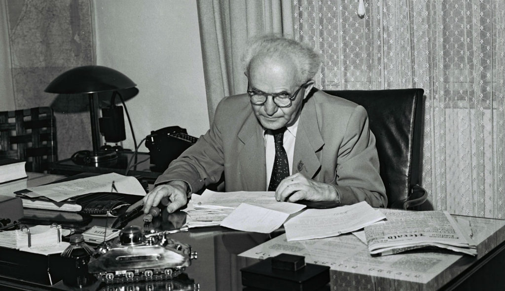 Ben-Gurion Forms First Elected Government