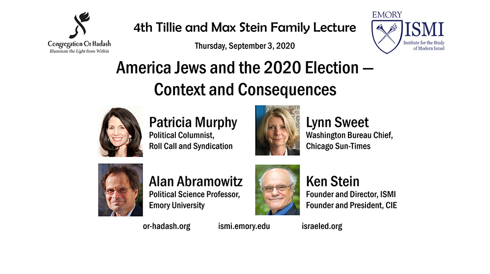 American Jews and the 2020 Election — Context and Consequences