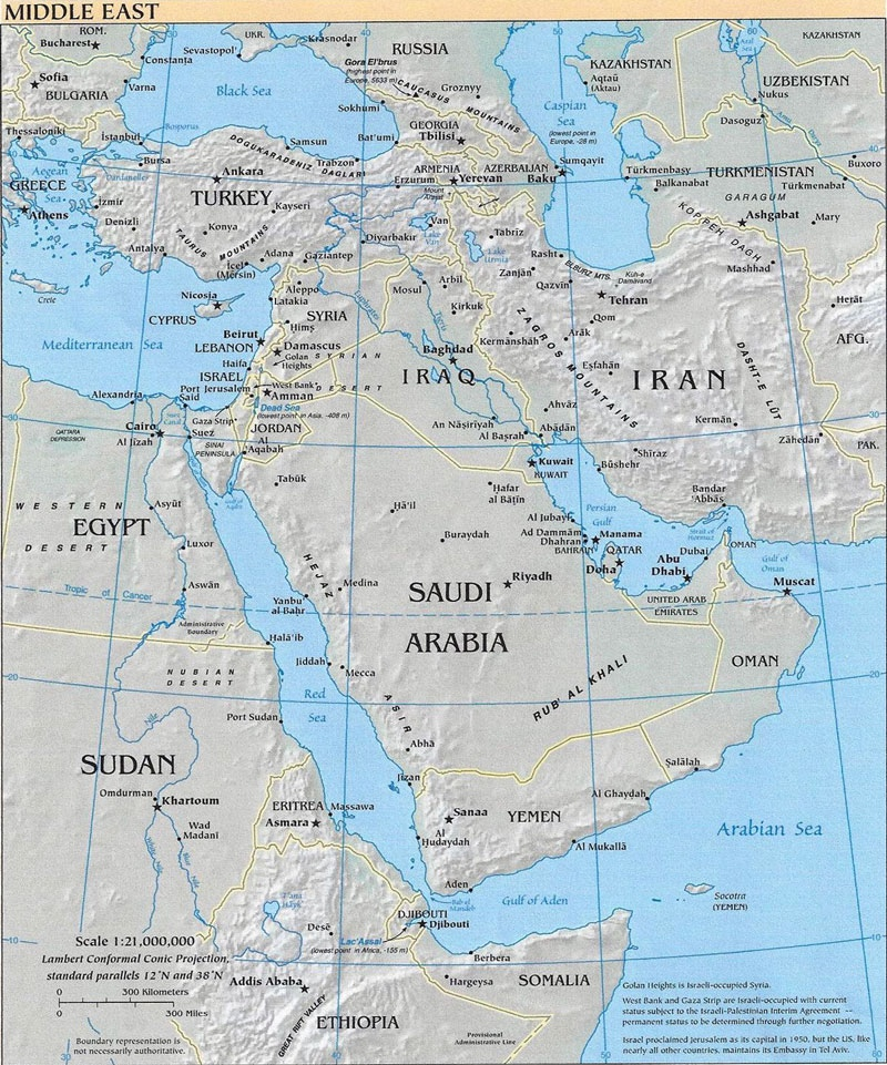 Options and Realities for Biden's Foreign Policy in the Middle East
